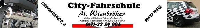 Gästebuch der City-Fahrschule M. Wienbröker